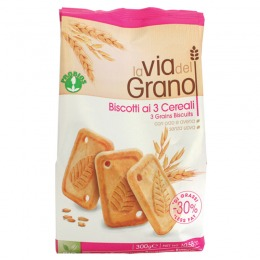 Three grains biscuits 300 g
