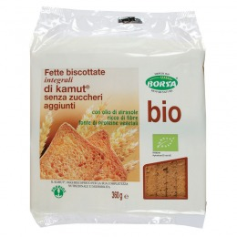 Whole kamut crisp toasts 360 g