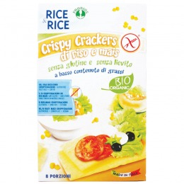 Cripsy crackers of rice and mice 200 g
