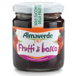 Organic spreadable fruit of mixed berries  250 g