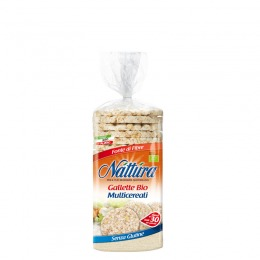 Gallette bio multicereali 130 g
