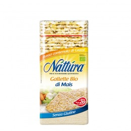 Gallette bio di mais 130 g