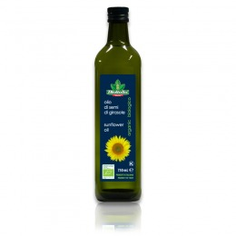 Organic sunflower oil 750 ml