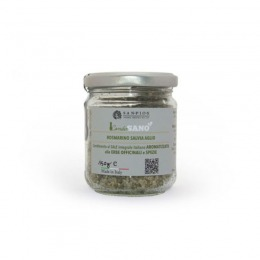 Flavoured salt with rosemary, sage and garlic 150 g