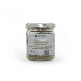 Flavoured salt with rosemary, thyme, sage, parsley and bay leaf 150 g