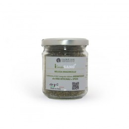 Flavoured salt with lemon balm and tarragon 150 g
