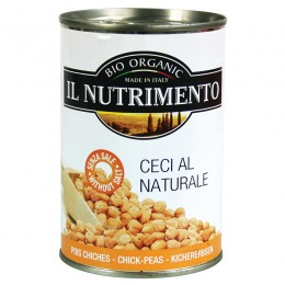 Ceci al naturale in lattina 400 g