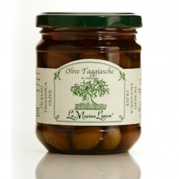 Pickled taggiasca olives 180 g