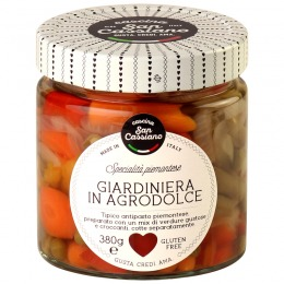 Gardiniera sweet and sour 380 g