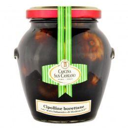 "Borettane onions with ""Balsamic vinegar of Modena IGP"" 300 g"