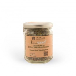 Vegetable seasoning with tomato and courgette 170 g