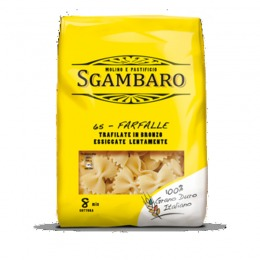 Bronze extruded Farfalle 500 g