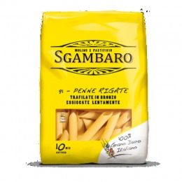 Bronze extruded Penne rigate 500 g