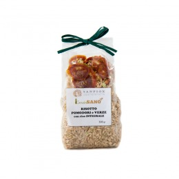 Whole grain risotto with Savoy cabbage and tomato 300 g