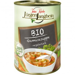 Organic vegetable soup 400 g