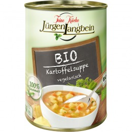 Organic potato soup 400 g