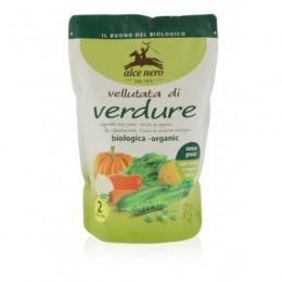 Organic velvet vegetable soup 500 g