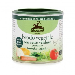 Organic granular vegetable broth 120 g