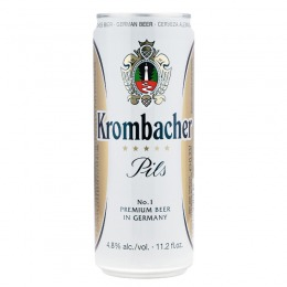 Krombacher beer 330 ml