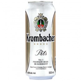 Krombacher beer 500 ml