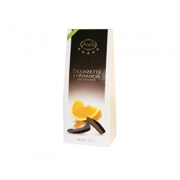 Candied orange peaces with chocolate 90 g
