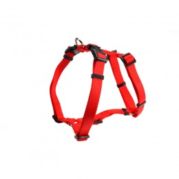 Red harness with triple adjustment  ø 45 cm