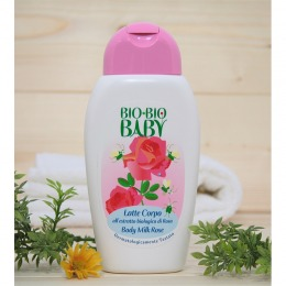 Bio Bio Baby Body milk Rose 250 ml
