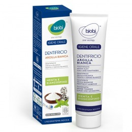 White Clay Mint Toothpaste-Biancospino 75 ml