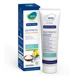 White Clay Toothpaste Lemon-Sage 75 ml