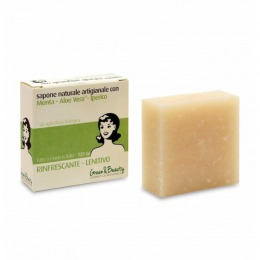 Refreshing-emollient natural soap 125 g