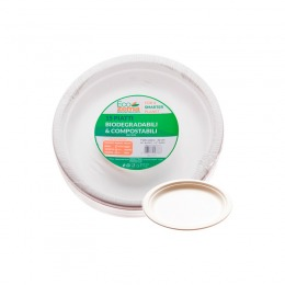 Compostable and biodegradable Plates 15 pcs