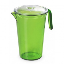 Green Jug with lid 1,85 l