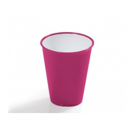 Fuchsia water glass w/ Microban®