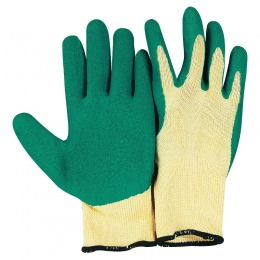 Garden glove in latex and cotton L